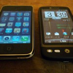 iPhone & HTC desire